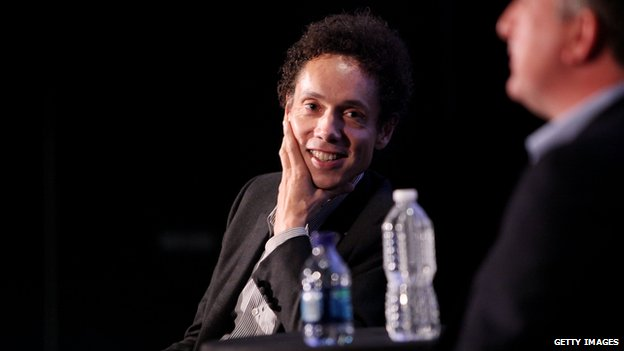 Malcolm Gladwell - speaking at a literary event in New York