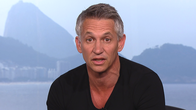 Gary Lineker on his teams of the tournament so far