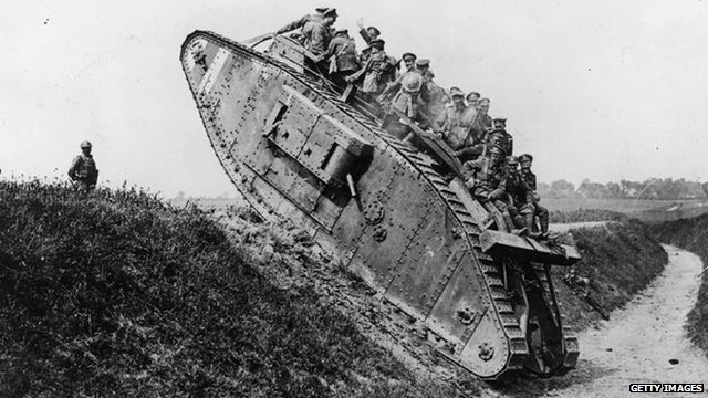Tanks World War 1