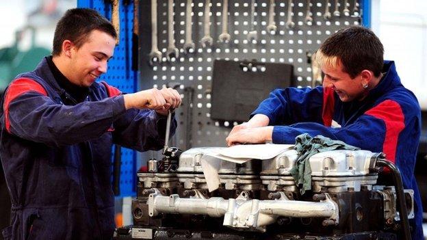 Apprentices in Loughborough