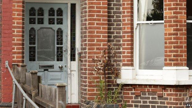 Ian Wright's home