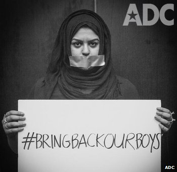 ADC campaign for #BringBackOurBoys