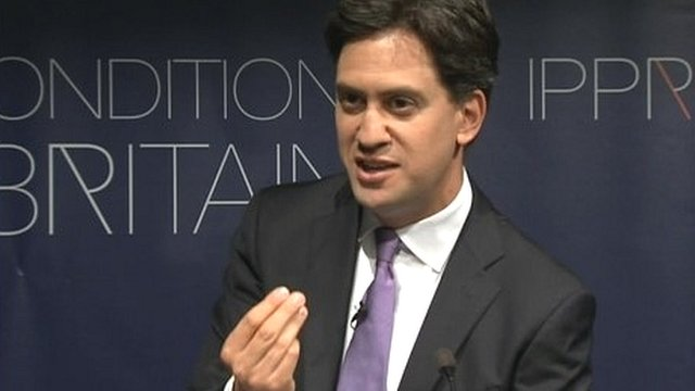 Labour's Ed Miliband hits back at critics of his leadership