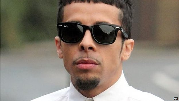 Dappy, whose real name is Dino Costas Contostavlos, was on trial at Chelmsford Magistrates' Court