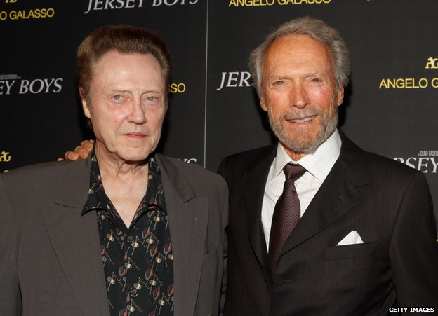 Christopher Walken, Clint Eastwood