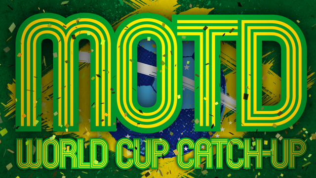 MOTD World Cup Catch-Up graphic