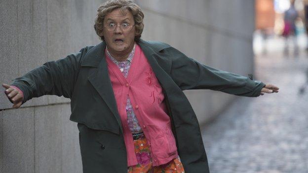 Brendan O'Carroll as Mrs Brown in D'Movie