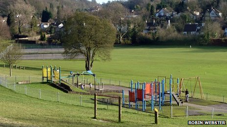 Whyteleafe recreational ground (Photo by Robin Webster)