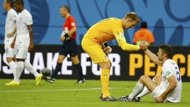 Joe Hart believes that England will pick themselves up and go again against Uruguay