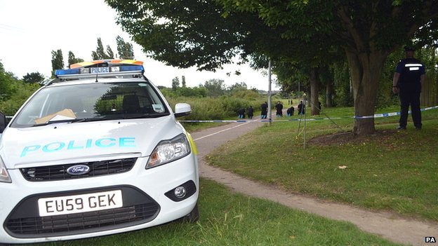Officers at Salary Brooke Trail, Colchester