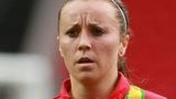 Wales striker Natasha Harding