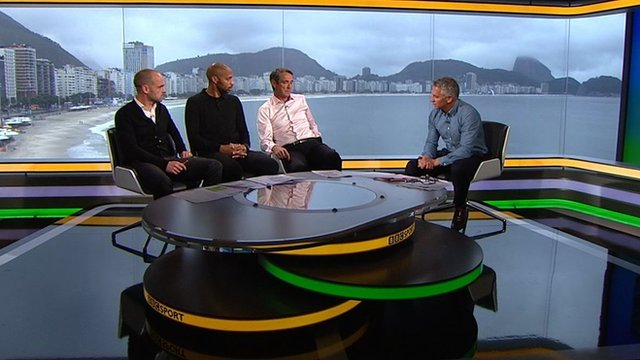 Danny Murphy, Thierry Henry, Alan Hansen and Gary Lineker