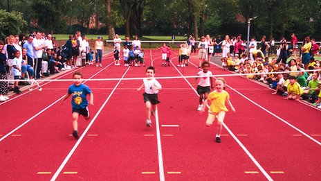 Primary school sports day