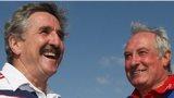 Gerald Davies and Gareth Edward in 2009