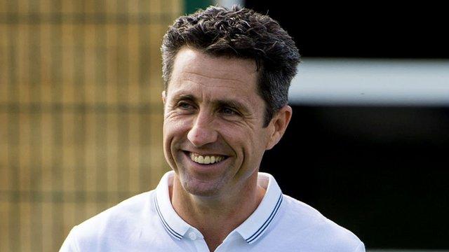 Celtic manager John Collins