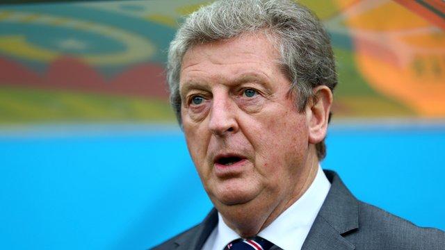 Roy Hodgson on England defeat