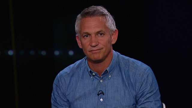 Gary Lineker gives his view on England's errors