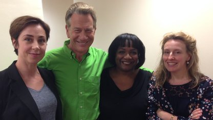Sofie Grabol, Michael Portillo, Diane Abbott and Miranda Green