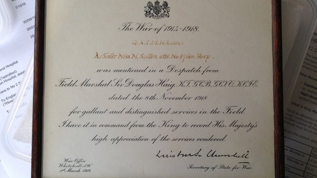 Certificate signed by Winston Churchill