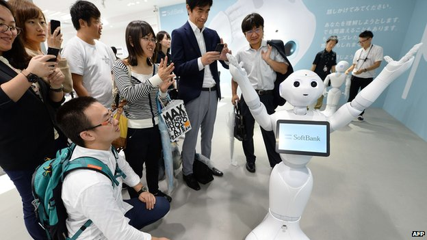 A robot in Japan