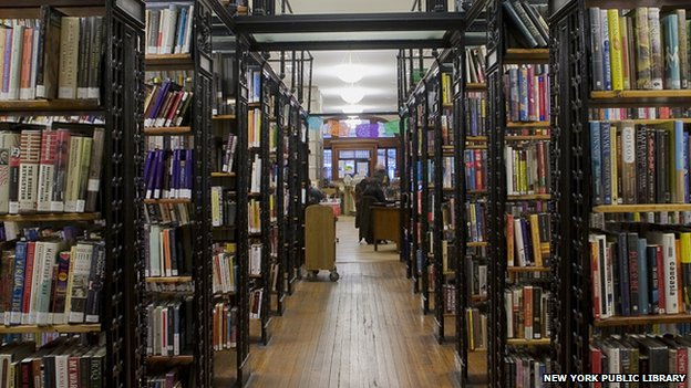 The Ottendorfer Library in Manhattan