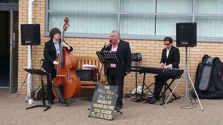 Jazz trio at Headingley