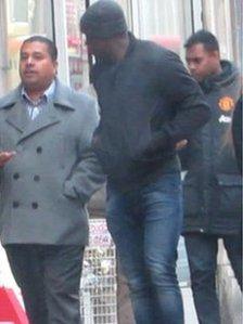 Ganeshan, Sankaran and Boateng in Croydon on 25/11/13