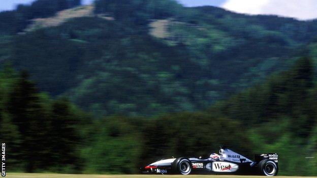 Räikkönen 2003 - A1-Ring onboard