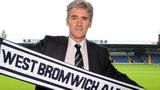West Bromwich Albion head coach