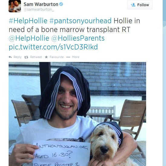 Sam Warburton's tweet