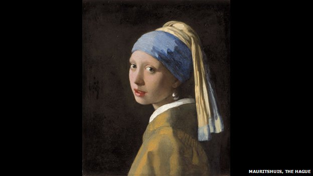 Girl With A Pearl Earring, c 1665