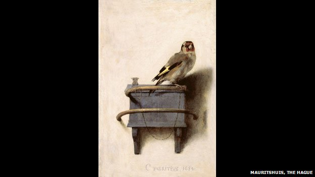 Carel Fabritius, The Goldfinch, 1654