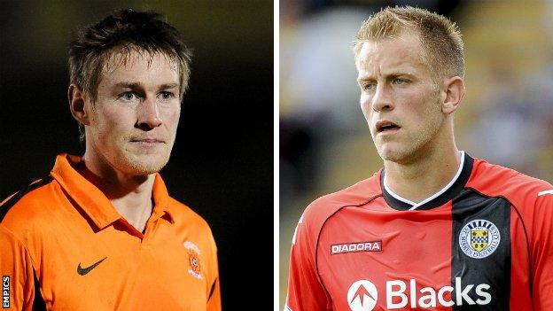 Antony Sweeney and Danny Grainger