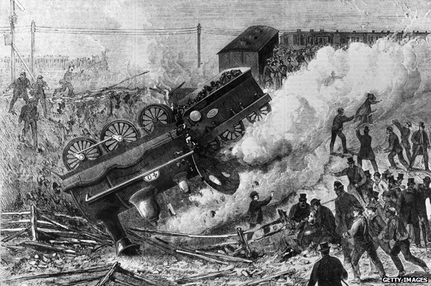 Railway crash 1868