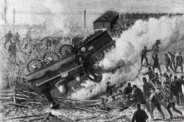 Railway crash 1868
