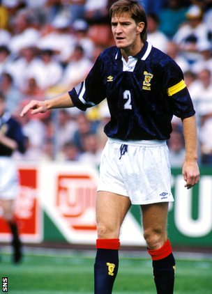 Former Scotland defender Richard Gough