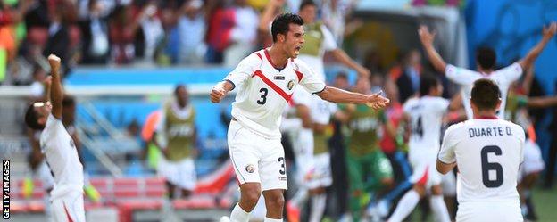 Costa Rica celebrate