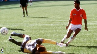 Costa Rica beat Scotland in 1990