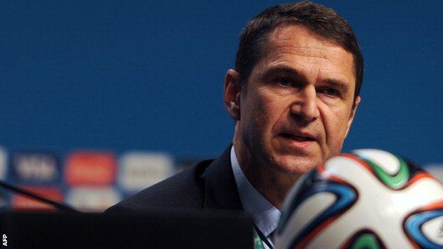 Fifa head of security Ralf Mutschke