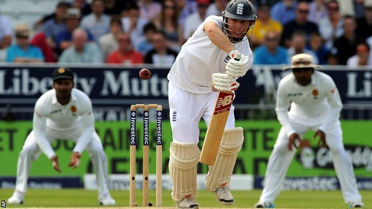 England batsman Gary Ballance