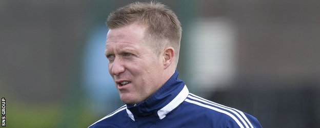 Gary Locke joined the coaching staff at Rugby Park this week