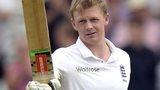 Sam Robson acknowledges his maiden Test century at Headingley