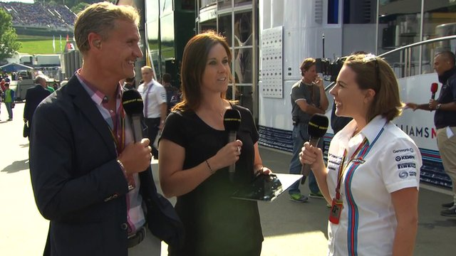 Inside F1: Austrian Grand Prix qualifying reaction with Claire Williams