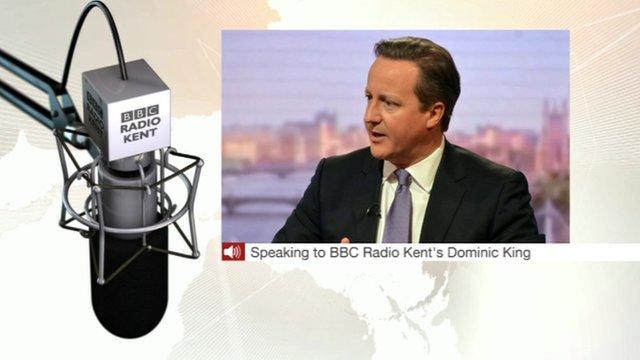 David Cameron talking about Ann Barnes