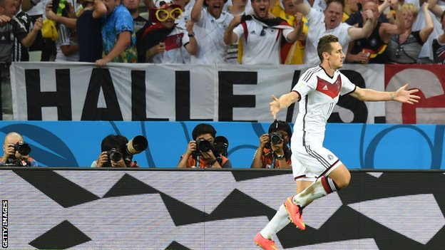 _75719217_klosecelebrates2_getty - WORLD CUP 2014 - World Cup Football | Fifa Soccer