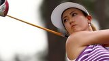 Michelle Wie in the third round of the US Women's Open at Pinehurst