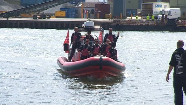 Watersafe UK Search and Rescue Team in Poole