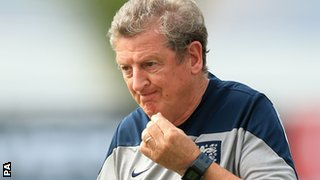 Roy Hodgson of England