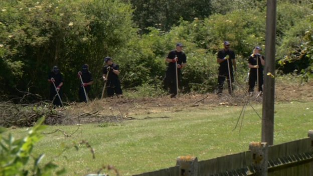 Police searching near Avon Way, Colchester