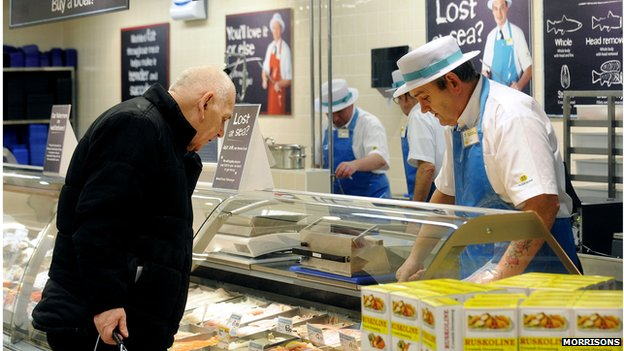 Morrisons announces another round of price cuts | BBC News